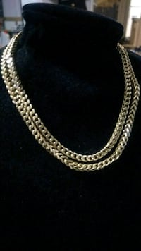 "Heavy Mint Condition 26"" 10k Gold Franco Chain Mississauga, L5M 2E1"