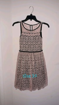 women's brown and black sleeveless dress Ashburn, 20148