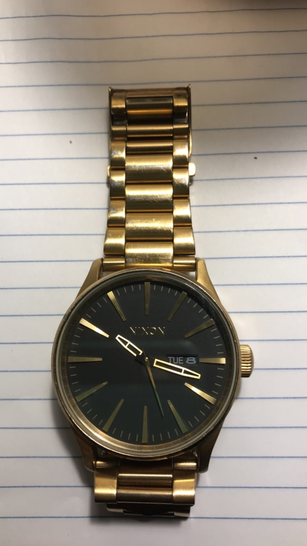 05b4855db61 Used Nixon Analog Link The Sentry SS 100mm Watch for sale in Tempe - letgo