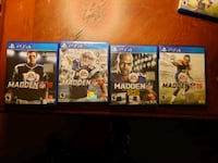 PS4 MADDEN COLLECTION El Paso, 79936