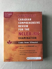 2 Copies of NCLEX-RN Exam review book. Used/new Brampton, L6X 0E6