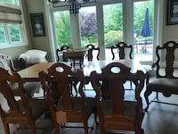 Large wooden dining table set Melville, 11747