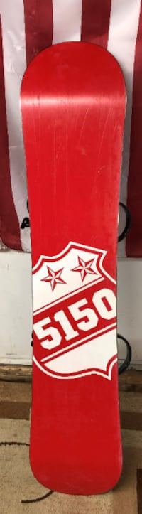 5150 Youth Snow Board with Bindings used Woodbine