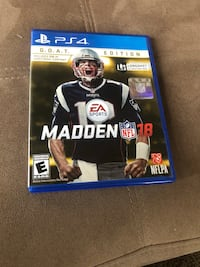 Madden NFL 18 PS4 game case Sharon Hill, 19079