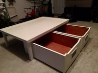 Pottery Barn Chest—Play table. Freshly painted Purcellville, 20132