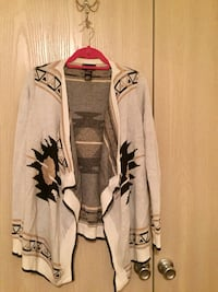 Black gold cream Aztec cardigan size large North Little Rock, 72113