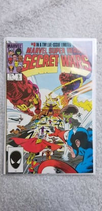 Secret Wars #9 Woodbridge, 22192