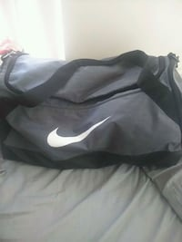 gray and black Nike duffel bag Mississauga, L4W 2P7