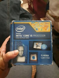 Intel core I5-4690k  Surrey, V3S 1H8