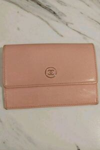Pink Chanel authentic card wallet Newmarket