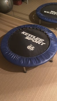 Blue and black kettler sport fitness trampoline McLean, 22102
