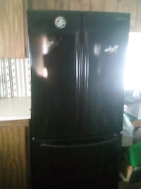 black Samsung bottom-mount refrigerator Sweet Home, 97386