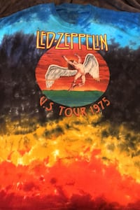 US Tour 75' LeD- Zeppelin/ one of a kind Pearl, 39208