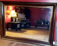 brown wooden framed wall mirror Burleson, 76028