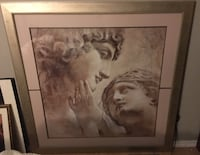 Beautiful 3.5 by 3.5 ft framed artwork $30 Mississauga, L5N 1P6
