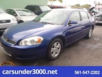 2006 Chevrolet Impala LT 3.5L lake worth, 33460