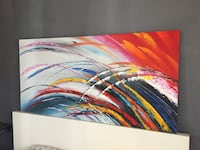Colorful abstract painting new 60.5/35 inch Los Angeles, 90020