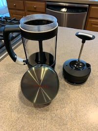 Starbucks Barista portable French press.  24 ounces Chantilly, 20152