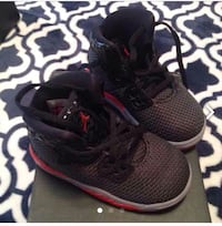 pair of black Nike running shoes North Arlington, 07031