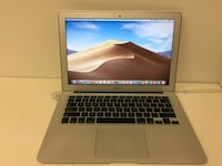 "I7 cpu 512gb ssd 8gb ram Macbook air 13"" 2014 mojave ms office with charger with movie software to watch free movie excellent condition Houston, 77036"