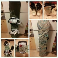 Burton snowboard, boots, bindings, and bag New Westminster, V3L