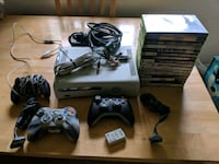 Xbox 360 with 3 controllers and 16 games Portland, 97219