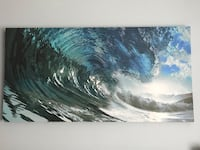 Catch a wave canvas print Wall Township, 07719
