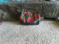 Patricia Nash brand new embroidered rose