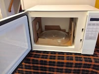 white and black microwave oven Toronto, M3A 1H5