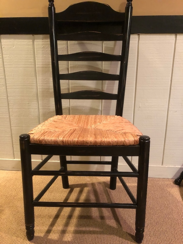 Sold Ladder Back Kitchen Chairs In