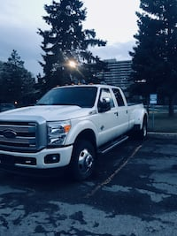 2016 f-350 Platinum Dually DRW Only 24000km