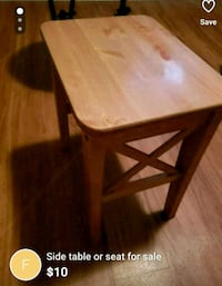 Make up table stool from ikea Châteauguay