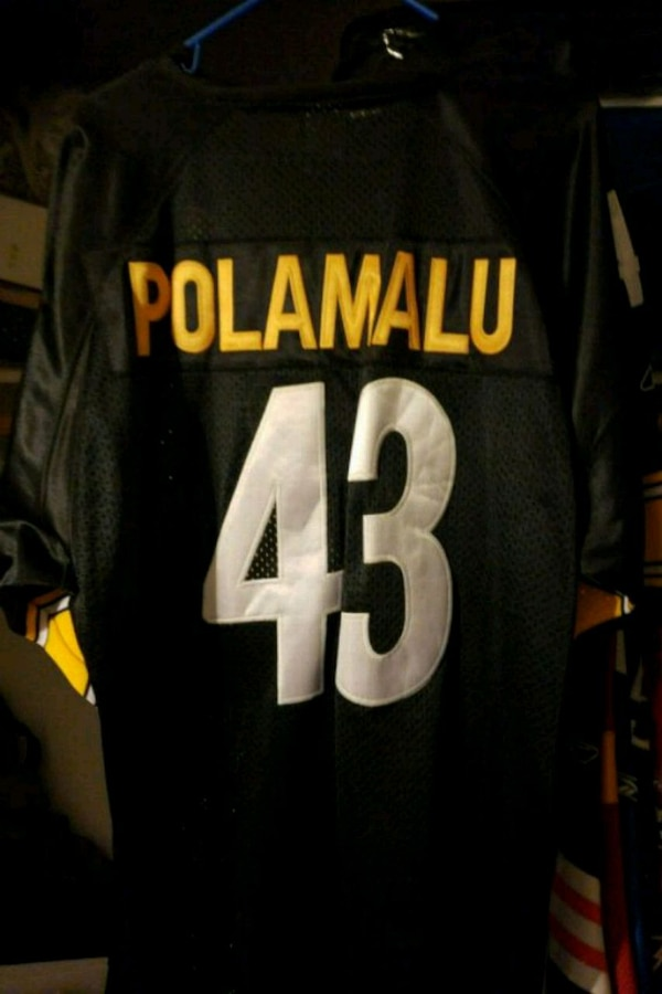 newest collection 09b60 f4405 NFL Pittsburgh Steelers Troy Polamalu Jersey