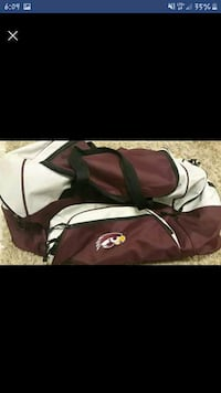 Kelly hawks duffel bag Scott County