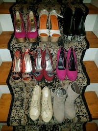 women's assorted pairs of shoes Mississauga, L5A 1J8
