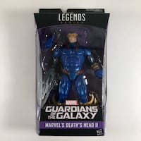 Marvel's Guardians of the Galaxy Legends Series Death's Head II Sealed Rutherford, 07070