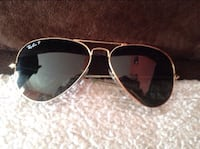 Gold framed ray - ban - p sunglasses