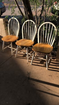 two brown wooden windsor chairs Mesa, 85208