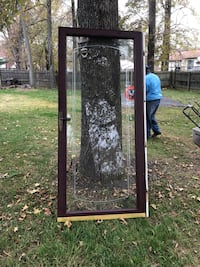 Brown wooden framed glass door Fort Washington, 20744