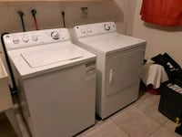 Washer and Dryer Just Over 1 Year Old. Toronto, M8Z 1J7