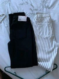 black and gray striped pants Lloydminster, S9V 2E6