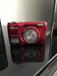 red Nikon CoolPix point-and-shoot camera Downey, 90242