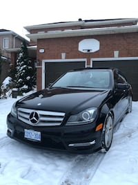 2012 mercedes Benz C300 4Matic Luxury backup Camera Navigation  Mississauga