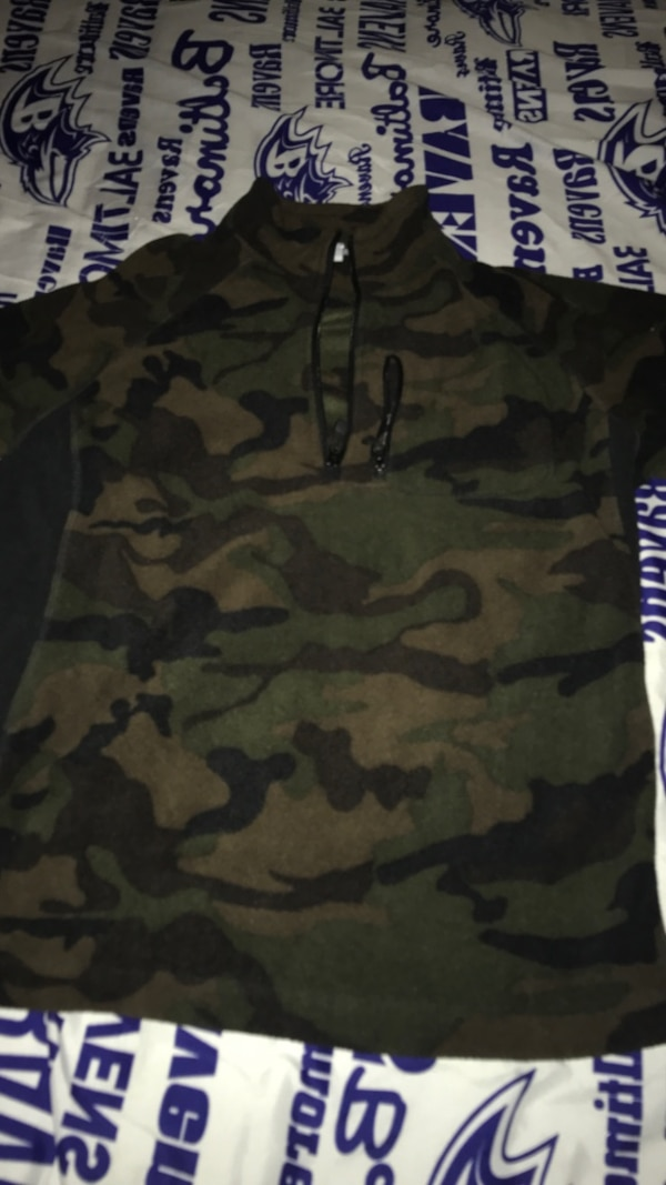 1baf271f72c24 Used black and green camouflage jacket for sale in Essex - letgo