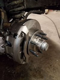 Brand new brakes and rotors we'll fit most cars