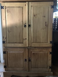 brown wooden 4-door cabinet Guilford, 06437