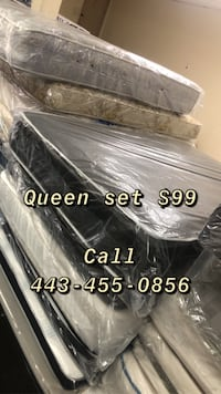 Queen mattress FREE BOX SPRING  Baltimore, 21223