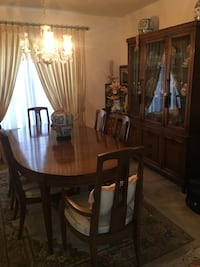 Vintage Drexel Dining Table & Chairs - 1974 - excellent condition Leesburg, 20176