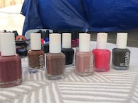 Assorted nail polish bottles lot of brand names Los Angeles, 90006