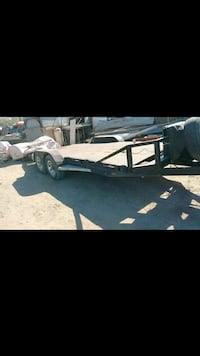 black and gray utility trailer Coolidge, 85128